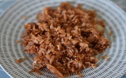 riz aux oignons